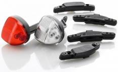 Lampki rowerowe Reelight sl100 migające komplet