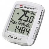 Licznik rowerowy sigma bc 14.12 alti biały 04150