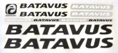 Naklejka batavus czarny 5 szt. = kpl