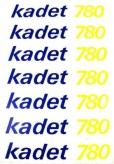 Naklejka na rower Kadet 780