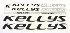 Naklejka Kellys czarny 5 szt.= kpl