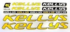 Naklejka Kellys żółta 5 szt= kpl