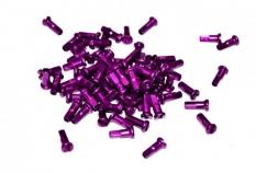 Nypel purpurowy deszcz 12mm alu 144 szt