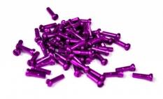 Nypel purpurowy deszcz 16mm alu 144 szt