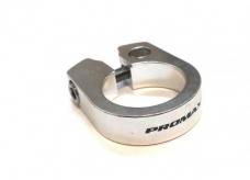 Obejma siodełka Promax 28,6mm imbus srebrna