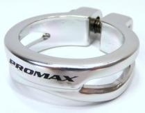 Obejma siodła 35mm promax imbus alu silver mx62