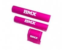 Ochraniacz na kierownicę BMX 20'' różowy