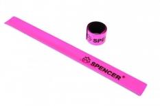 Opaska odblaskowa Spencer różowa