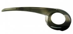 Osłona korby 38t 520mm transparent +uchwyt