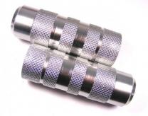 Pegi do bmx alu srebrne fi38x110mmxm14