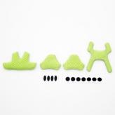 Gąbka do kasku met elfo/genio 2012 zielona