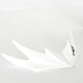 Daszek do kasku met falco/istino 2009 biały
