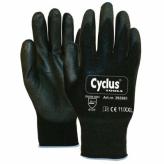 Rękawiczki warsztatowe Cyclus XXL czarne