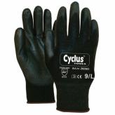 Rękawiczki warsztatowe l brązowe Cyclus