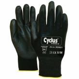 Rękawiczki warsztatowe M Żółte Cyclus