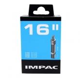 Dętka Impac 16x1.75-2.25 wentyl rowerowy