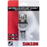 Lampka rowerowa przednia Simson Clearly czarna