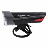Lampka rowerowa przednia Spanninga Trigon 15 LUX USB czarna