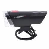 Lampka rowerowa przednia Spanninga Trigon 10 LUX czarna