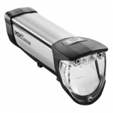 Lampka rowerowa przednia Busch & Muller Ixon Core 50 Lux 180F-5 srebrna