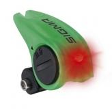 Lampka rowerowa tylna Sigma Brakelight baterie zielona