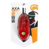 Lampka rowerowa tylna Axa Retro Red baterie