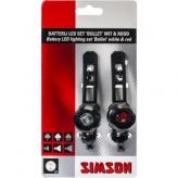 Zestaw lampek LED Simson Bullet