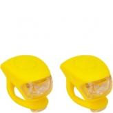 Zestaw lampek rowerowych Urban Proof żółty