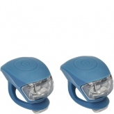 Zestaw lampek rowerowych Urban Proof  niebieski