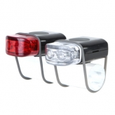 Zestaw lampek rowerowych IKZI mini stripties czarne
