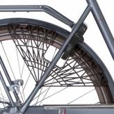 """Osłona rowerowa na tylne koło 28"""" Cortina Trenza brązowa"""