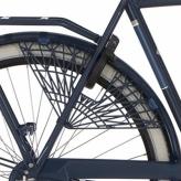 "Osłona rowerowa na tylne koło 28"" Cortina Milo grantowa"