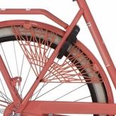"""Osłona rowerowa na tylne koło 28"""" Cortina Milo czerwona"""