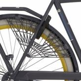"""Osłona rowerowa na tylne koło 28"""" Cortina Milo grafitowa"""