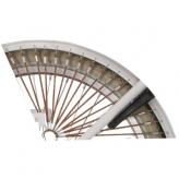 """Osłona rowerowa na tylne koło 24 i 26"""" Alpina Tingle miodowa"""