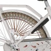 """Osłona rowerowa na tylne koło 20 i 22"""" Alpina Tingle miodowa"""