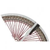 """Osłona rowerowa na tylne koło 24"""" Alpina Tingle czerwona"""