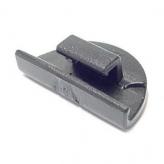 Hesling zaczep osłony combi clip  czarne