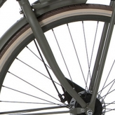 Widelec rowerowy Cortina U4 Transport 28 stone bridge mat