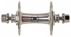Piasta przednia Track Novatec 36 otw. maszyna srebrna