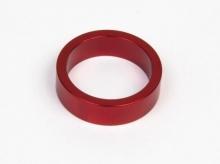 Podkładka dystansowa alu 28,6-36 czerwona  10 mm