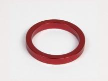 Podkładka dystansowa alu 28,6-36 czerwona 5 mm
