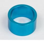 Podkładka dystansowa alu 28,6-36 niebieska   20 mm