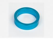 Podkładka dystansowa alu 28,6-36 niebieska  10 mm