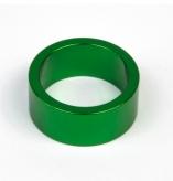 Podkładka dystansowa alu 28,6-36 zielona  15 mm