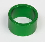 Podkładka dystansowa alu 28,6-36 zielona  20 mm