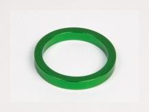 Podkładka dystansowa alu 28,6-36 zielona  5 mm