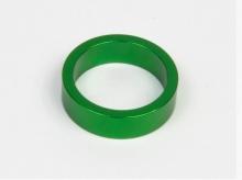 Podkładka dystansowa alu 28,6-36 zielona 10 mm