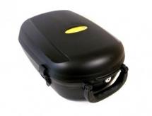 Kufer na bagażnik na klucz czarny wypinany