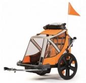 Przyczepka rowerowa Bellelli bimbo b-travel orange